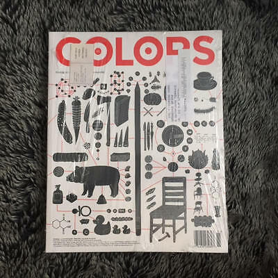 COLORS Magazine Benetton Issue 85 Going to Market [RARE] Sealed