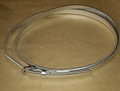 Babies and girls belt, silver