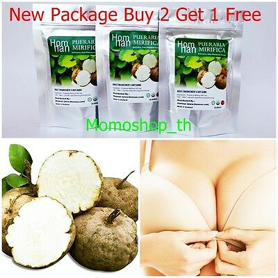 Pueraria mirifica natural firming breast enlargement bust female hormone 500mg