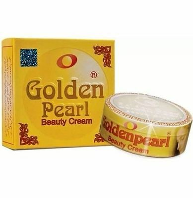 ORIGINAL GOLDEN PEARL BEAUTY CREAM ANTI AGEING PIMPLE, SPOTS 30g FREE FACE WASH