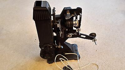 VINTAGE 200B 9.5 PATHESCOPE PROJECTOR. - Spares or Repair