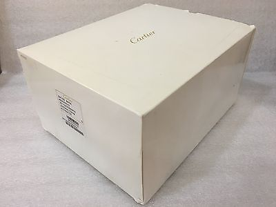 "Cartier Roadster Big red watch box With outer white cover "" Authentic Box "" Used"