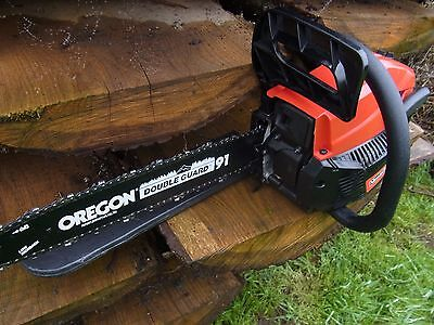 """NEW 16""""  MOUNTFIELD MC3720 PETROL CHAINSAW with   FREE CARRY CASE AND STIHL OIL"""