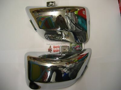 Yamaha Virago Xv 535  Xv535  Chrome Side Panels Panel Cover Covers New