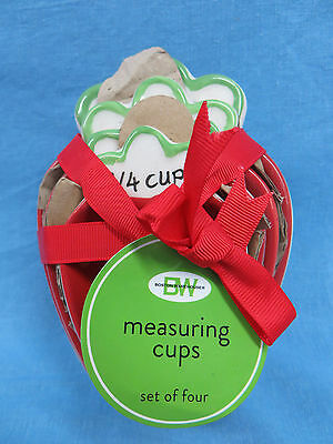 Boston Warehouse Strawberry Ceramic Meauring Cups New