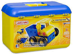 NEW MECCANO Construction EASY-stage/ level 1- 4 models-0301