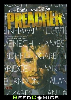 PREACHER BOOK 5 HARDCOVER New Hardback Collects Issues #41-54 by Garth Ennis