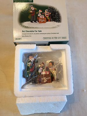 Dept 56 * Christmas In The City Accessories * Hot Chocolate for Sale NEW