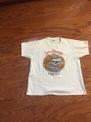 Vintage 1980's Jose Cuervo Tequila Xl T-shirt Made In USA Tag