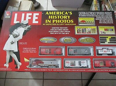 Life Americas History in photos Train set HO Scale Life Like Trains