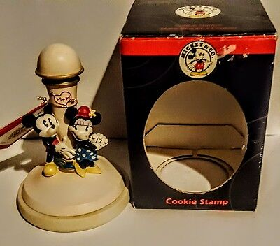 Disney Mickey & Co Ceramic Cookie Stamp - Mickey Mouse & Minnie Mouse