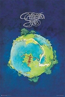 YES ~ FRAGILE ~ ALBUM COVER ART BY ROGER DEAN ~ 24x36 MUSIC POSTER