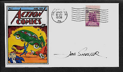 Action Comics #1 First Superman 1938 Featured on Collector's Envelope *X246