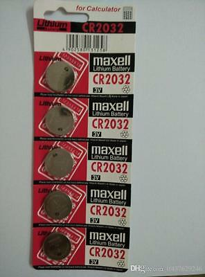 Maxell CR2032 Lithium Batteries 3V Coin Button Battery Cell 10PCS