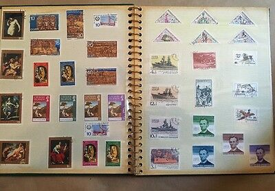 Photo Album Stamp Foreign  Collection All Different Dates Check Pictures