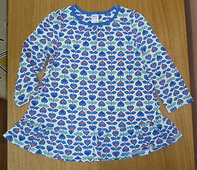 Boots Miniclub girl's long-sleeved cotton tunic, size 12-18 months