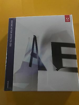 Adobe After Effects CS 5 windows: Full Retail Version (Brand New) PN: 65053272