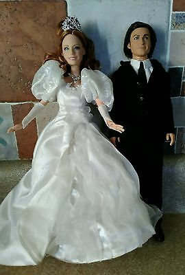 Enchanted Giselle Doll & Robert Amy Adams Patrick Dempsey Disney Movie