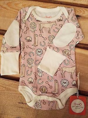 Long Sleeve Infant Onesie by Mini Britches