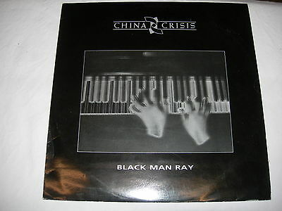 "China Crisis - Black Man Ray - 12"" Single - Virgin VS752-12"