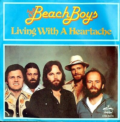 "Vinyl Single 7"" – Beach Boys - Living With A Heartache - 1980 – Rar"
