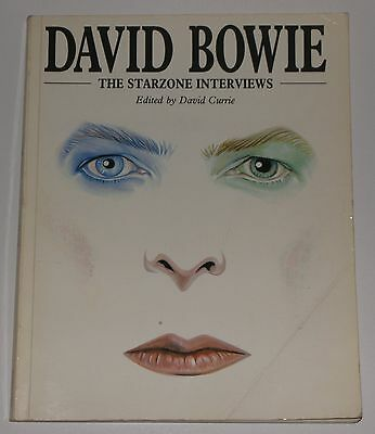 David Bowie Book The Starzone Interviews
