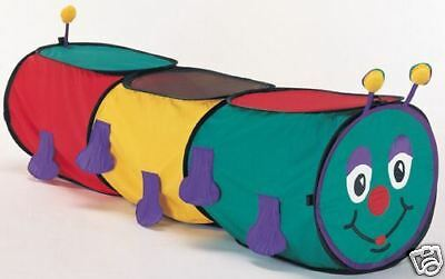 Playhut Wiggly Worm 5 Foot Tunnel NEW! Instant Set Up!