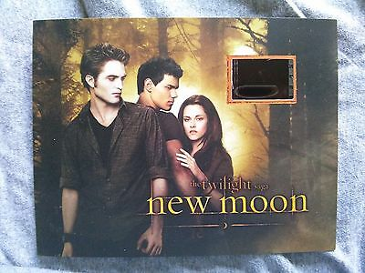 TWILIGHT New Moon LIMITED EDITION Senitype Film Cell BELLA - EDWARD - 1941/3500