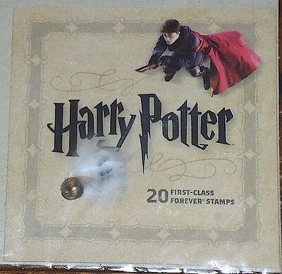 Us Scott # 4824-44 (2013) Harry Potter Forever Stamps Booklet Of 20 Scarce Mnh