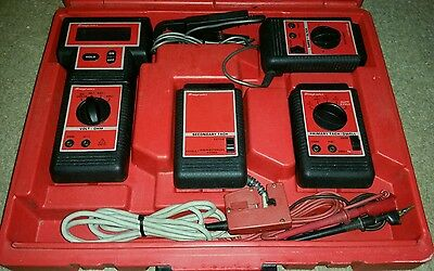 Snap On Mt1100 Primary Tach-Dwell Meter & Volt Ohm Module Mt1120 Mt1110 * Tested