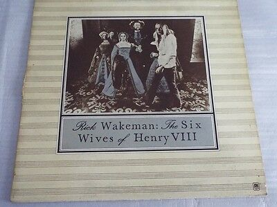 Rick Wakeman The Six Wives Of Henry VIII LP Gatefold
