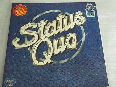 Status Quo Collection Greatest Hits LP Gatefold A1/B1/C1/D1