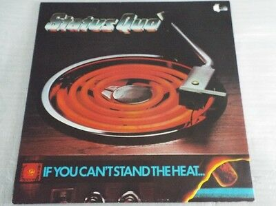 Status Quo If You Can't Stand The Heat LP