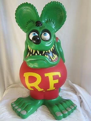 24 inch Rat Fink Bank, Authentic--showroom sample (BH)