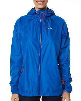 Rip Curl ACTIVE WEAR JACKET Womens Size 10 Gym Exercise Spray Jacket - Blue