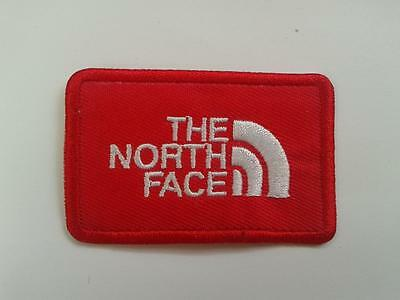 THE NORTH FACE IRON ON EMBROIDERED PATCH VEST 6.5cm x 4.5cm