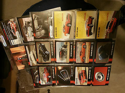 2009 Dodge Challenger Collector Cards SET of 30 cards!! Plastic Sleeves NOT incl