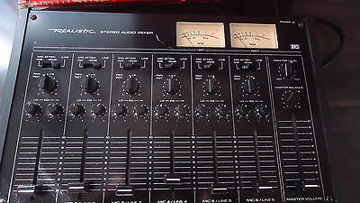 Realistic Stereo Audio Mixer Model 32-1210