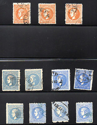 Serbia, Wholesale Lot, Sc. ##18, 20-4, Used, SCV 146.00. RG4.111