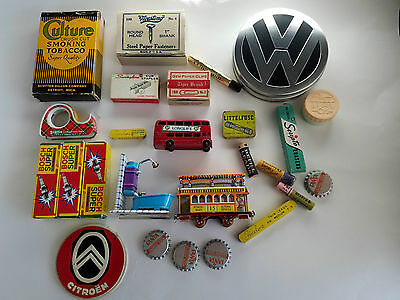 Mixed Lot, Collection, Antiques And Vintage Office Items And Toys, Collectibles