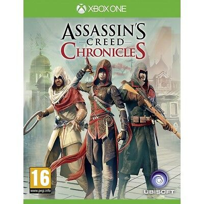 Assassin's Creed Chronicles Trilogy Xbox One Game Brand New