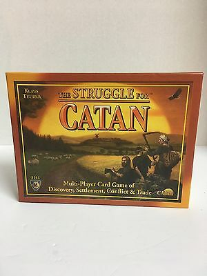 The Struggle For Catan Card Game Mayfair Games Complete