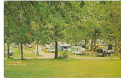 SHADY CAMPGROUNDS, BEACH BEND PARK, BOWLING GREEN KENTUCKY 1960s KY.