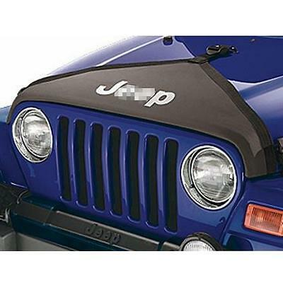 Hood Cover Front End Bra Cover T-Style Protector Kit for Jeep Wrangler 2007-2017