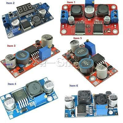 XL6009 DC Adjustable Step Up Down Boost Power Converter Module Replace LM2596 AS