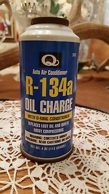 Quest 4oz PAG 100 R-134a Auto A/C Oil Charge with O-Ring Conditioner #310