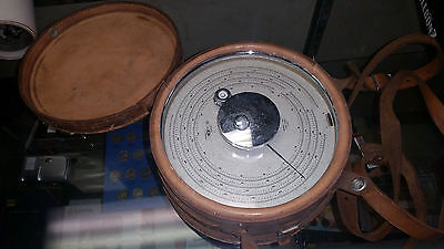 American Paulin System Micro Altimeter M1 Surveying Instrument Vintage