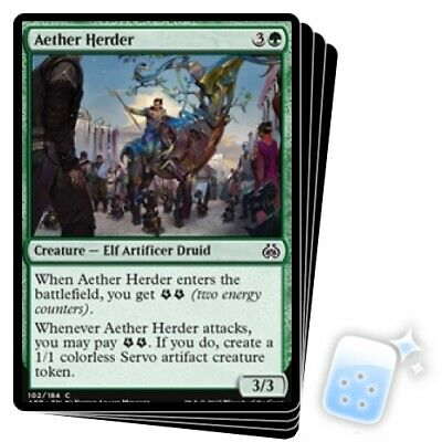 4 x Aether Herder 102//184 Common - Aether Revolt