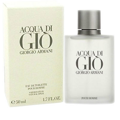 Armani Acqua di Gio Homme EDP Eau De Perfume Spray for Men New & Sealed 50 ml