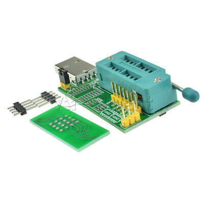 Multifunction CH341A Router USB Programmer LCD Burner Bios Board 24 25 Series AS